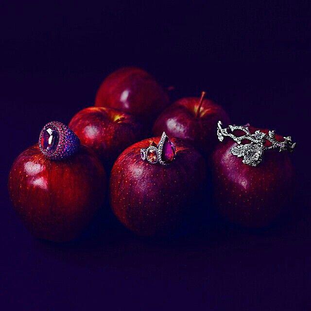 Once upon a gem ... Editorial shoot for de Grisogano, AlmaKarina Studio
