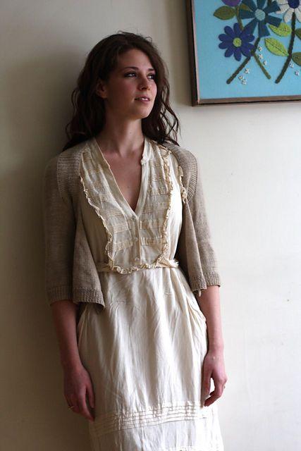 Ravelry: Wispy Cardi pattern by Hannah Fettig