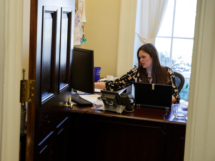 The Rise Of Sarah Huckabee Sanders A Trump Administration Star Who Just Became The New White House Press Secretary July 22 2017 Sarah Huckabee Sanders Secretary House