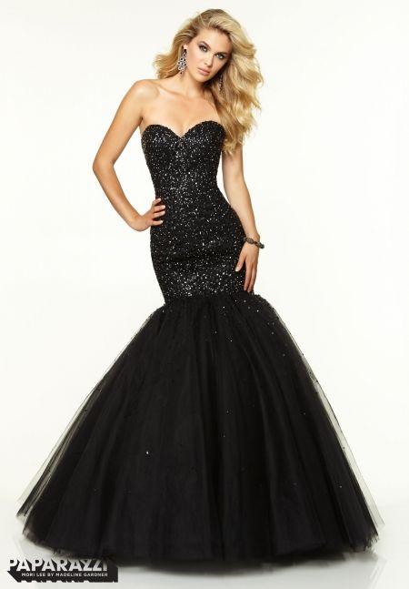 Black Sparkly Prom Dresses 2015