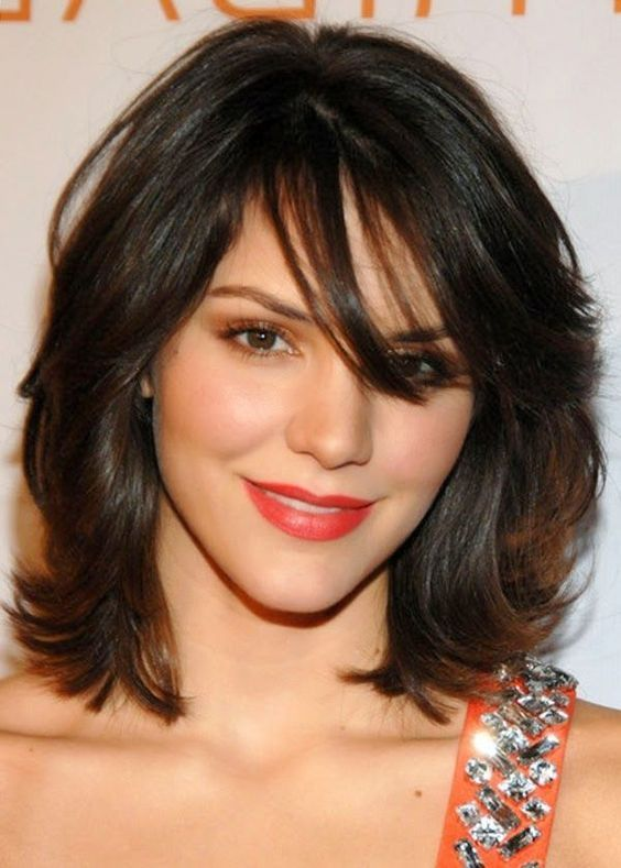 40 Stunning Hairstyles That Make Thin Hair Look Thick Medium Layered Hair Medium Hair Styles Medium Length Hair With Layers