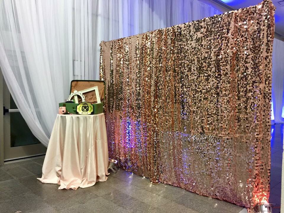 These Indoor Ceremony Backdrops Will Make You Pray For: Wedding, Photo Booth