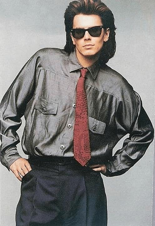 Lange Haare Frisuren Manner 1980 80sfashiontrends 80s Fashion Men 1980s Fashion Trends 80s Fashion