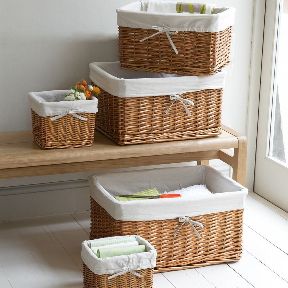 20 Everything You Need For A Bathroom Basket Wicker Baskets Storage Storage Baskets Rattan Basket