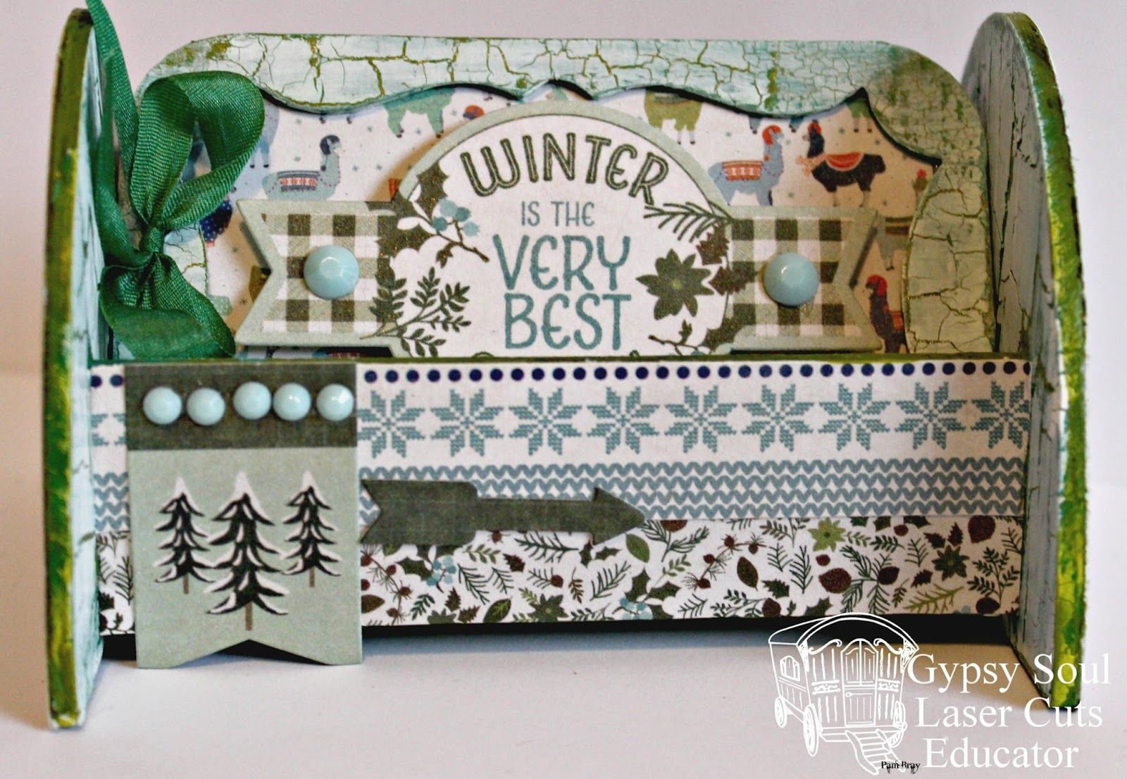 Are you ready for winter!!! I am sharing with you an altered ...