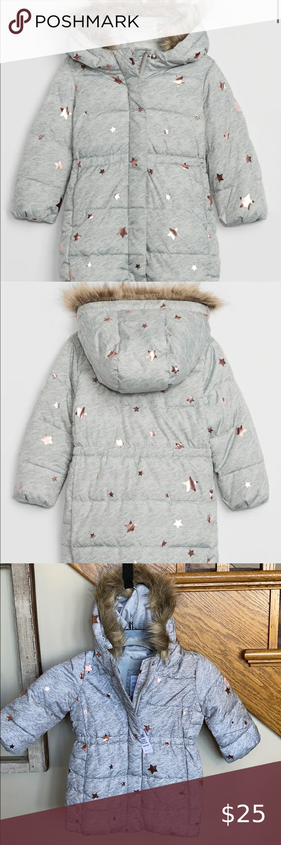 Toddler Coldcontrol Max Puffer Jacket In 2021 Girls Puffer Coat Winter Puffer Coat Grey Puffer Coat [ 1740 x 580 Pixel ]