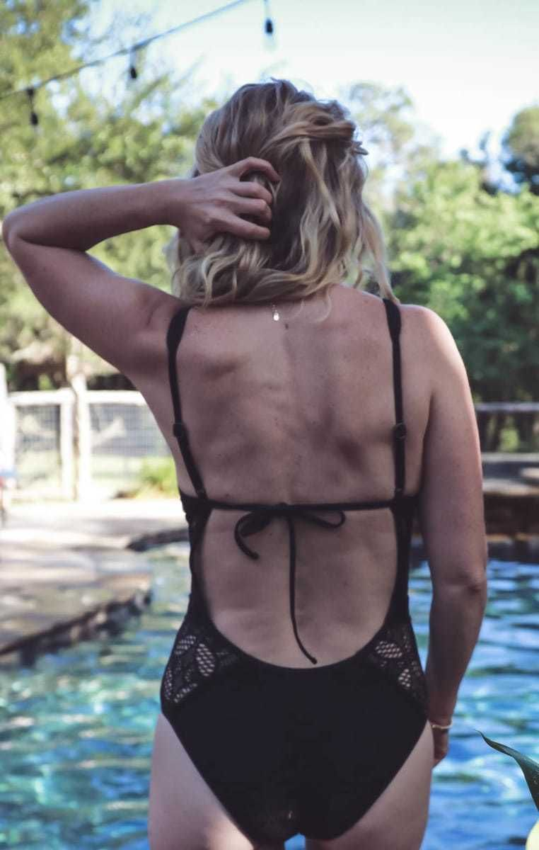 4c02fe18412b3 Swim for women over 40, one piece swimsuits and bikinis for mature women,  by Erin busbee, fashion blogger and youtuber from busbee style,  busbeestyle.com, ...