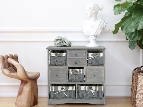 Cassetti Bagno ~ Mobiletto comodino cassettiera cassetti legno bagno salotto