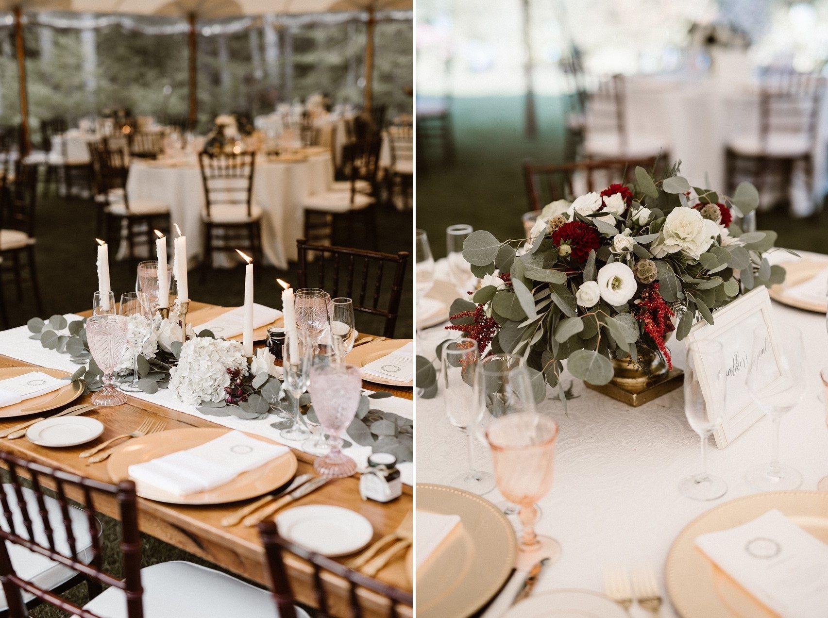 0723e1986ee Rustic Elegant Wedding Tables. Rustic Elegant Wedding Tables Black Tie ...
