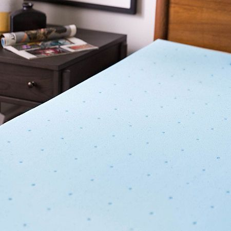 Lucid 3 Inch Gel Memory Foam Mattress Topper In 2020 Memory Foam