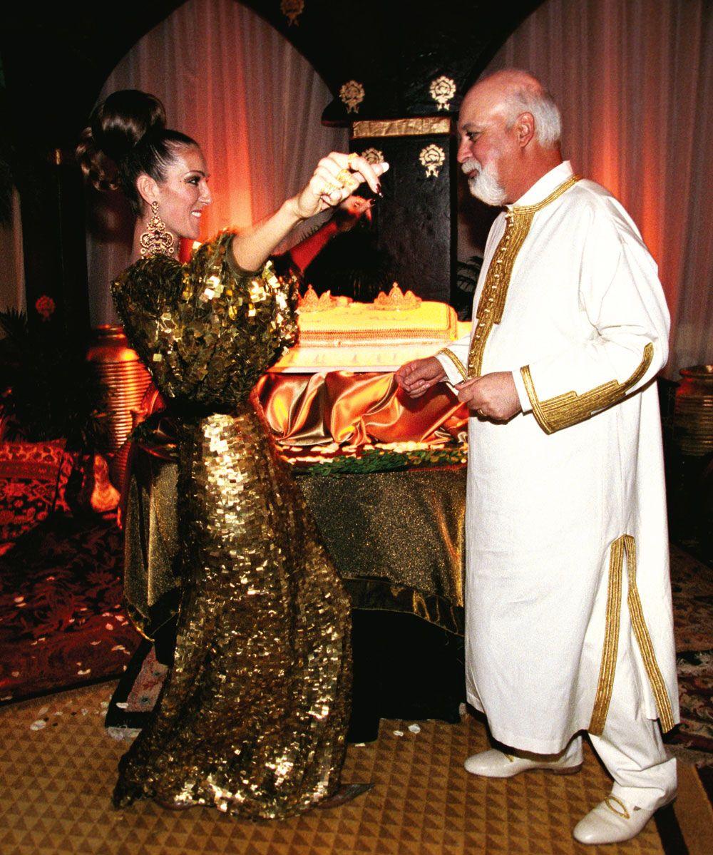 CélineDion et René Angélil ☝️Mariage Las Vegas 2000