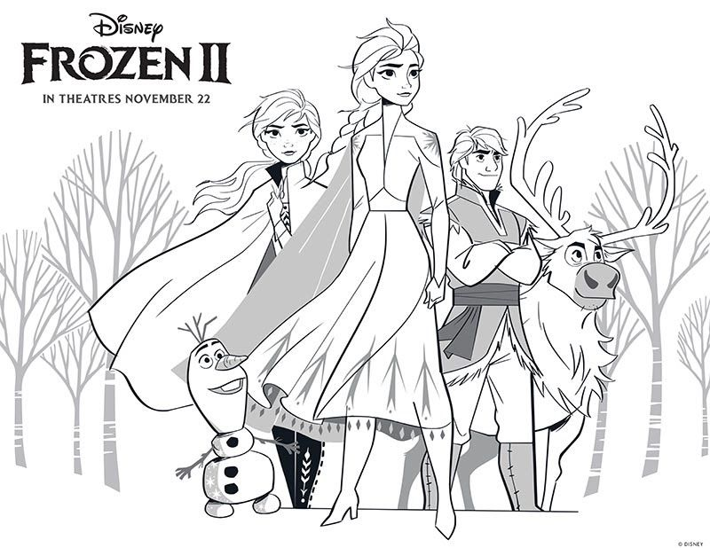 Free Printable Frozen 2 Coloring Pages And Activities Frozen 2 Coloring Pages Getcoloringpages Com In 2020 Elsa Coloring Pages Disney Coloring Pages Frozen Coloring
