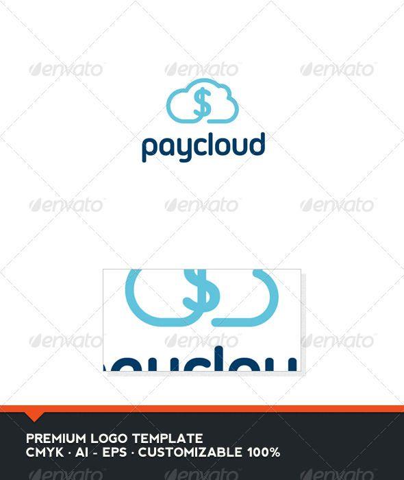Pay Cloud Logo Template Logo templates, Cloud and Logos - pay template