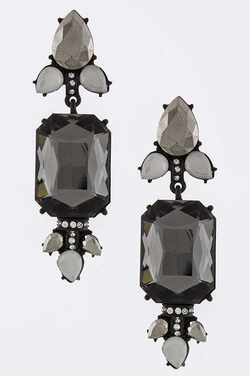 Gwen Drop Earrings – LayeredChains