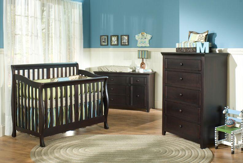 boy s nursery love the espresso and blue colors meubles de reve meubles pour bebe