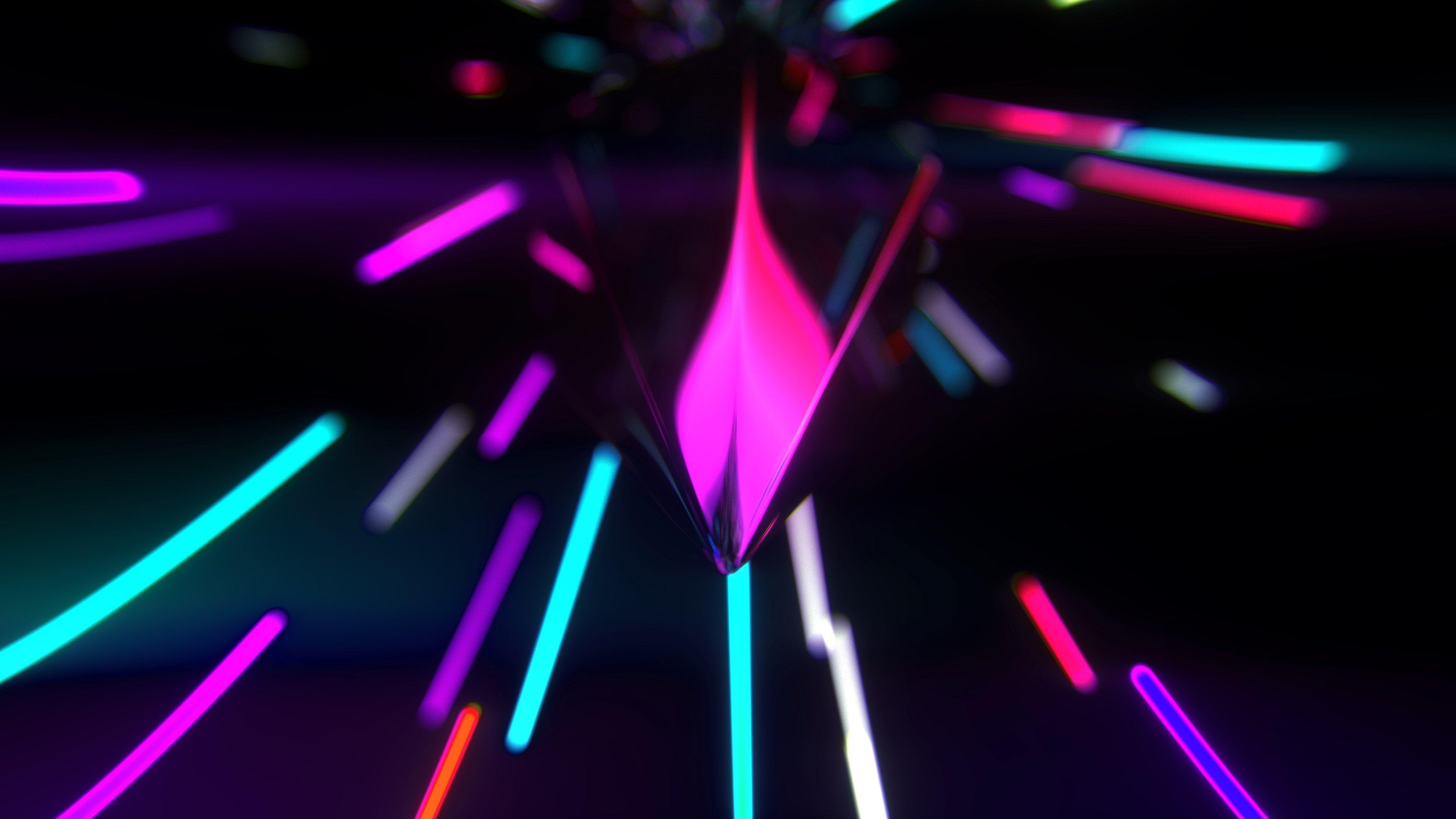 3840x2160 Neon Lights 4k Free Download Hd Desktop Wallpaper Neon Wallpaper Neon Light Wallpaper Wallpaper Iphone Neon