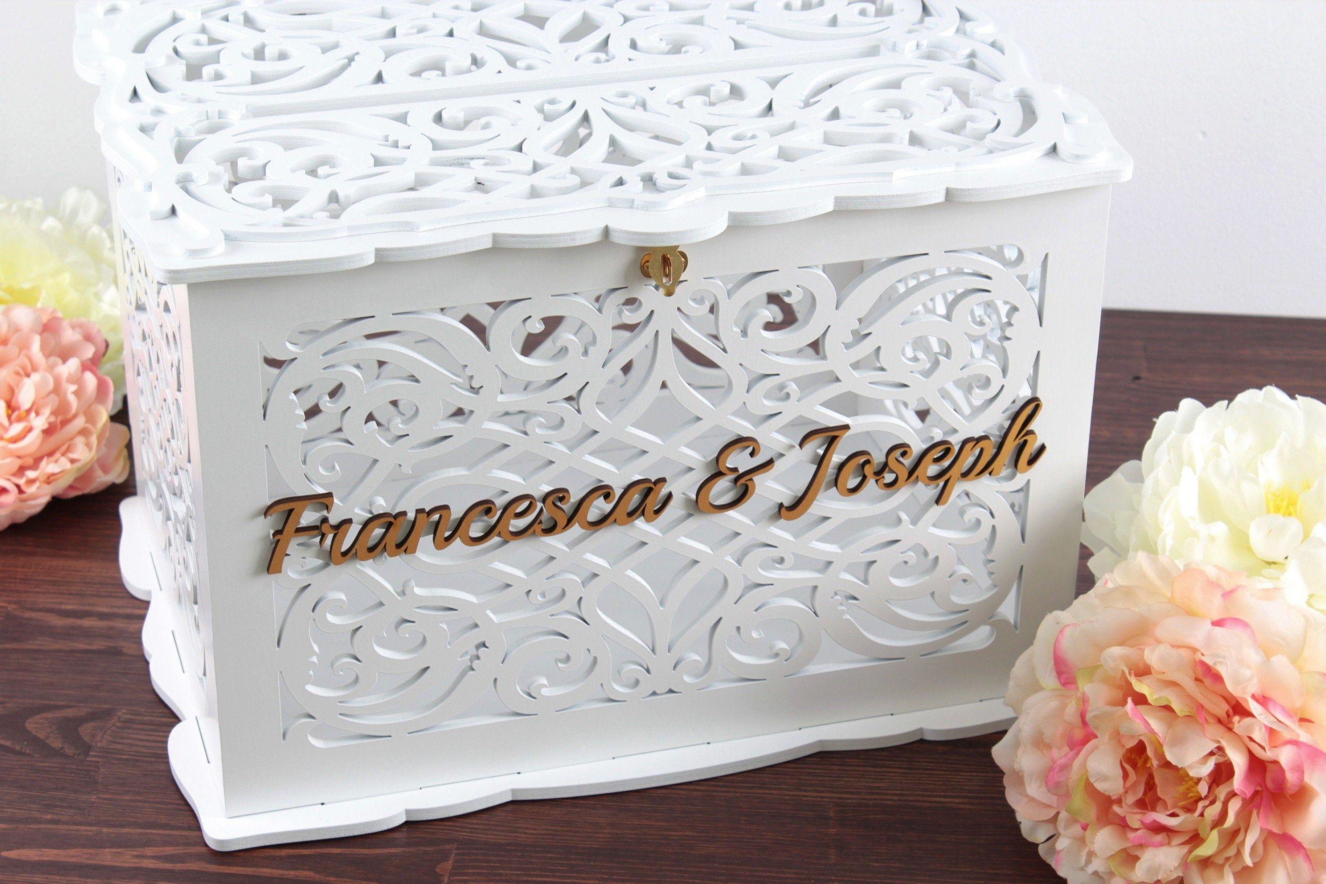 Wedding Envelope Box Wedding Card Box Wedding Gift Wedding Etsy In 2020 Card Box Wedding Wedding Envelope Box Wedding Card Holder