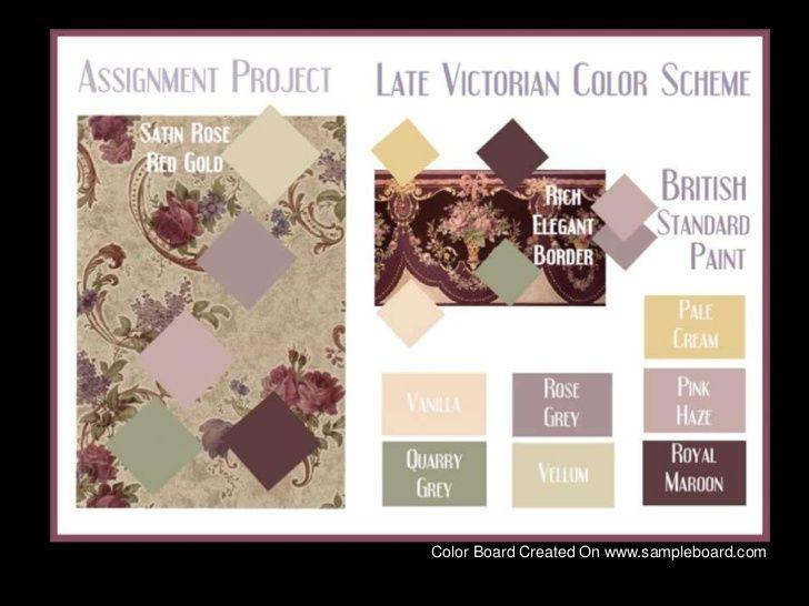 Victorian Colors Schemes
