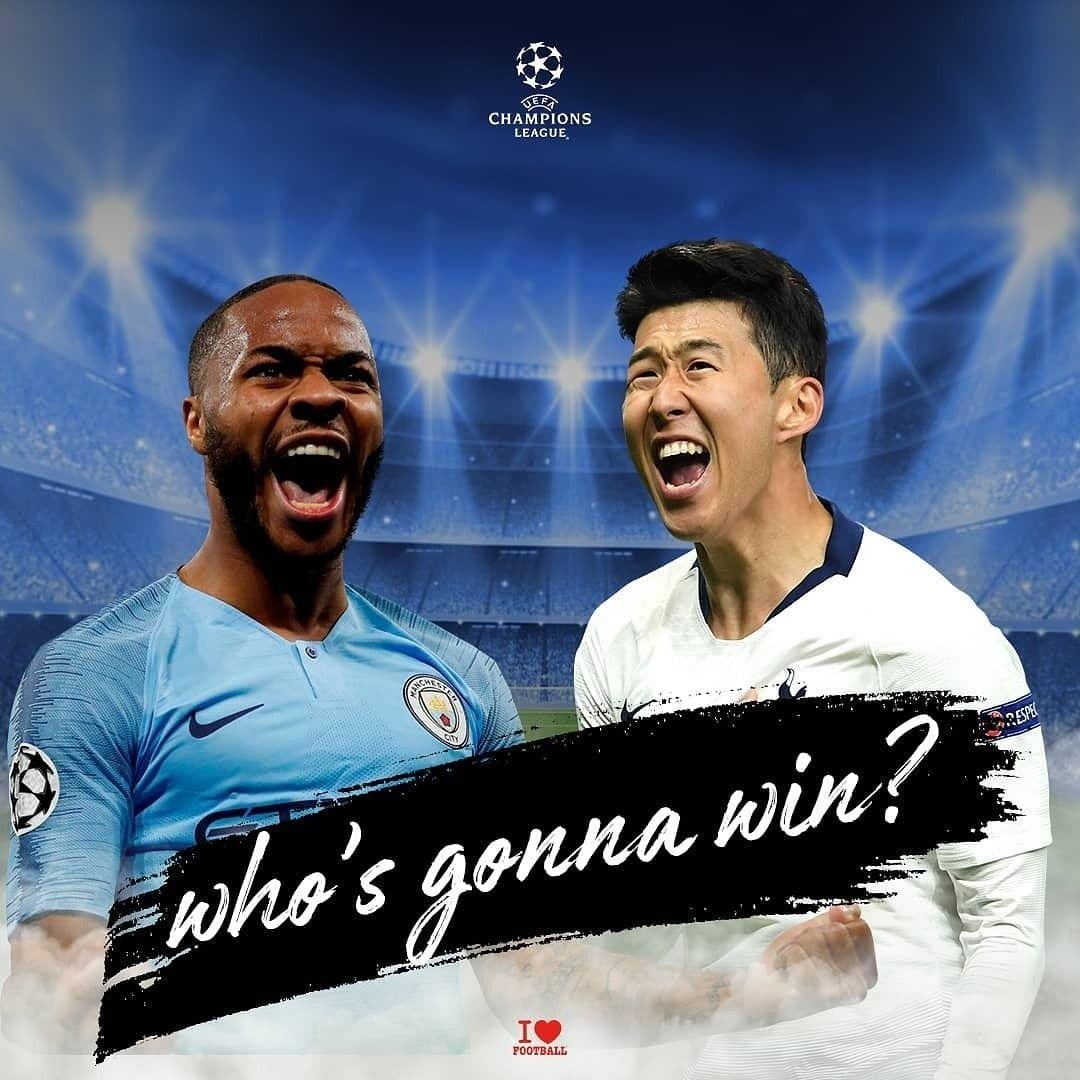 Uefa Champions League - Manchester City vs. Tottenham ...