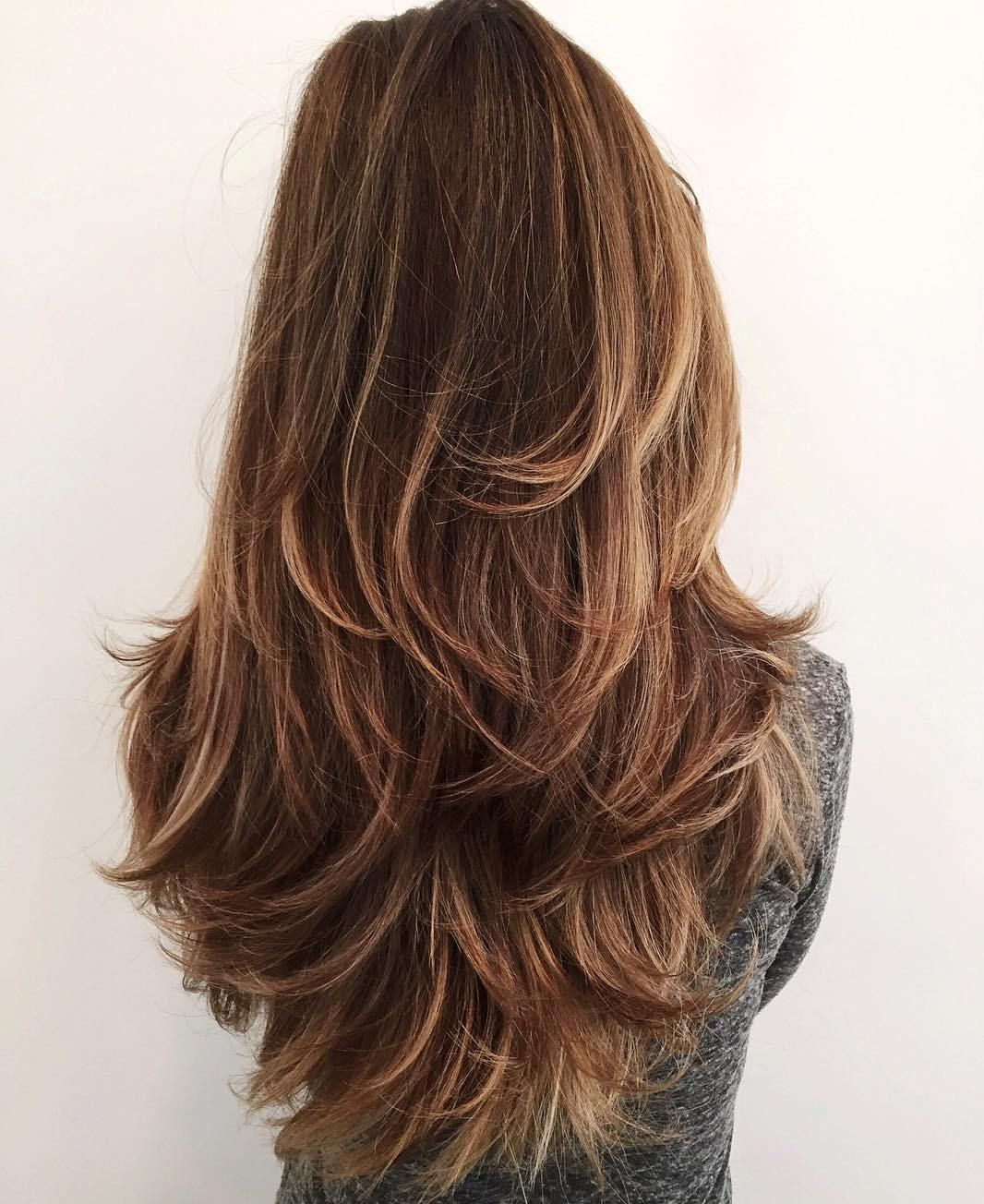 50 lovely long shag haircuts for effortless stylish looks | long
