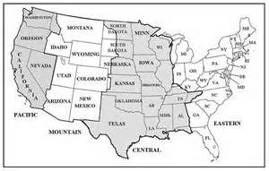 Us Time Zones Map Printable - Bing Images | good to know | Pinterest ...