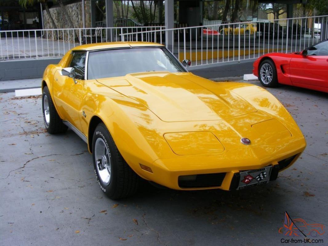 1976 Corvette Stingray T Top 1976 Corvette Corvette Stingray