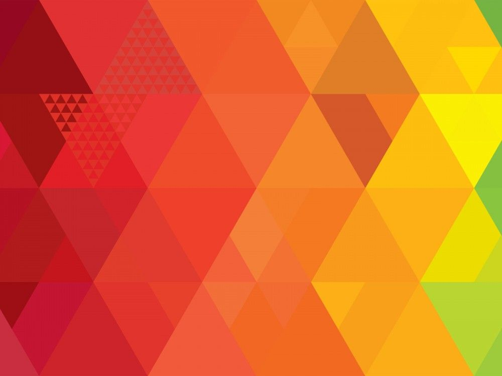 Triangle Abstract Art PPT Backgrounds Brand X Visual Language