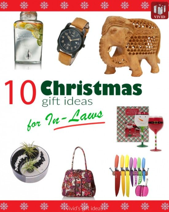 10 Christmas Gifts For Inlaws