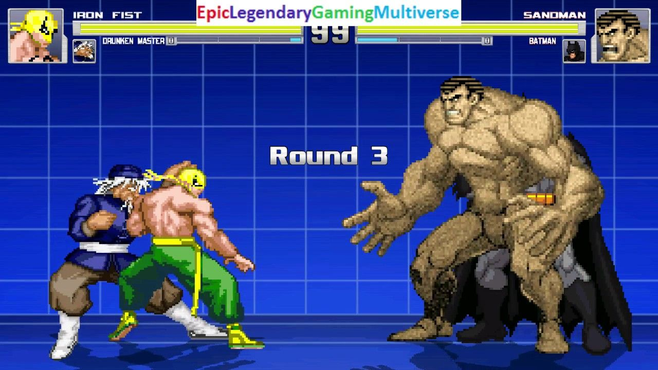 The Drunken Master And Iron Fist VS ----- And Batman In A MUGEN Match / Battle / Fight: https://t.co/Vu1z0gxy0s via @YouTube