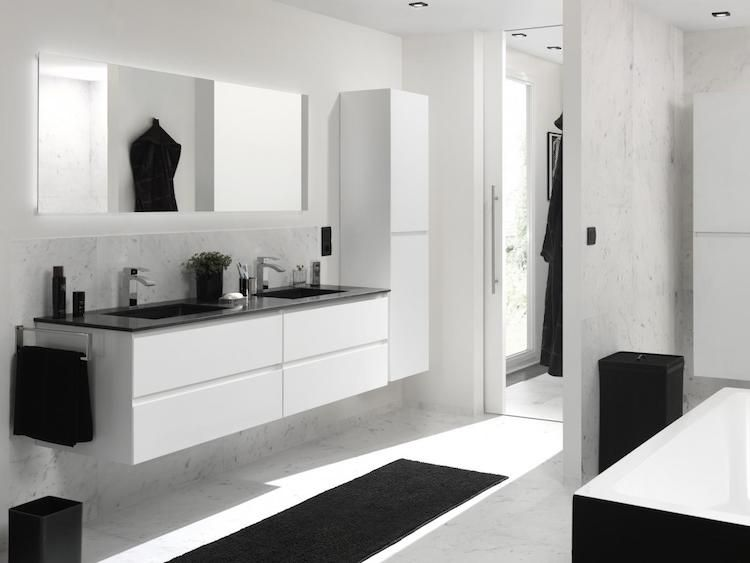 Badkamer Ideeen Modern : Modern gelakte badkamermeubels o product in beeld