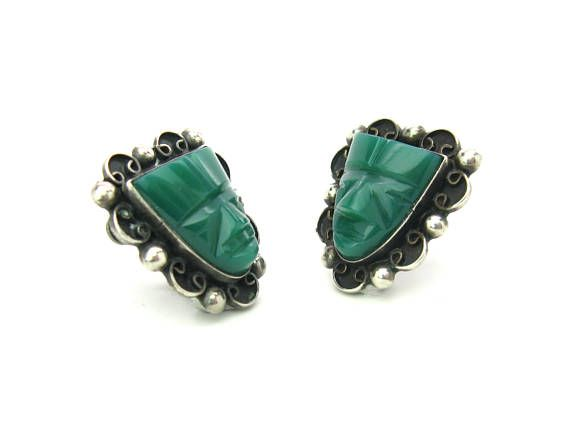 in london semi lr azuni hera stone precious earrings green by onyx