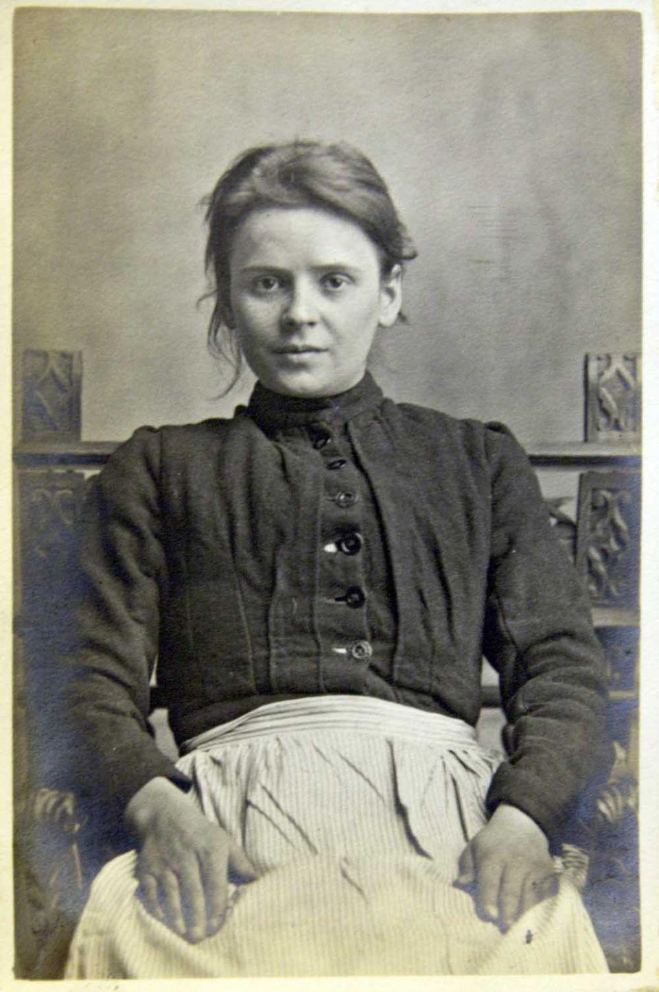 Menston Asylum. Mabel Grey, aged 27, buried Buckle Lane, row 20 grave 13