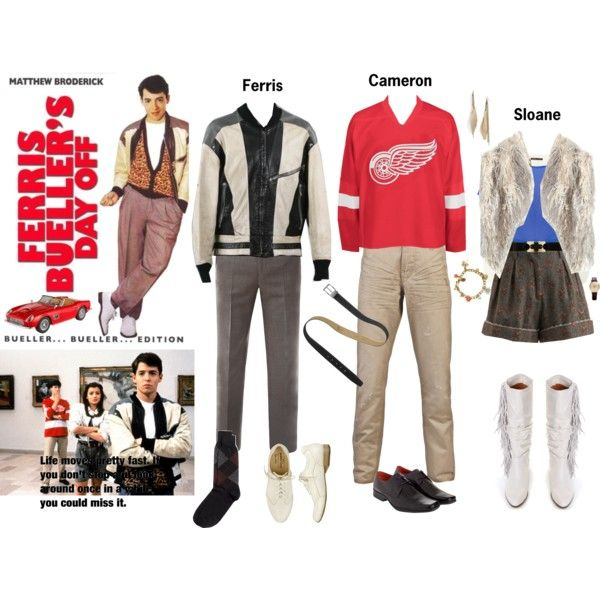 Ferris Bueller's Day Off Costumes (With
