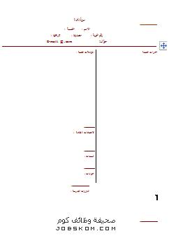 نموذج سيرة ذاتية وورد مختصرة Doc عربي وانجليزي Cartoon Songs Crown Pattern Pattern