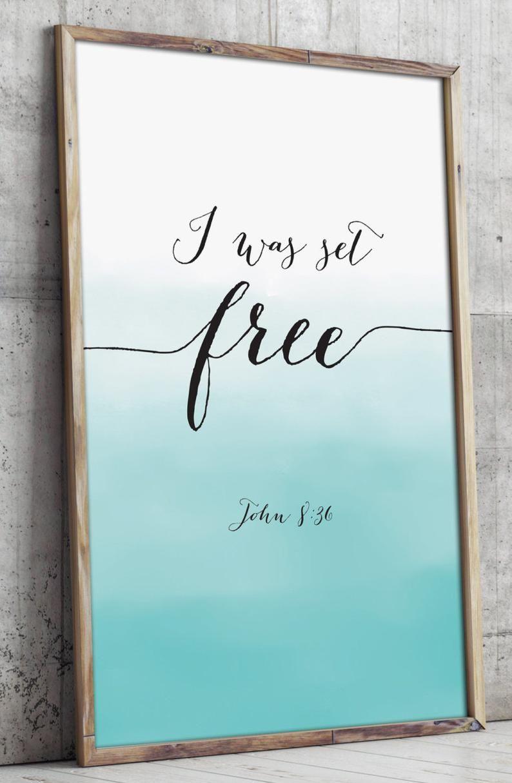 Bible verse art printable christian wall art decor poster
