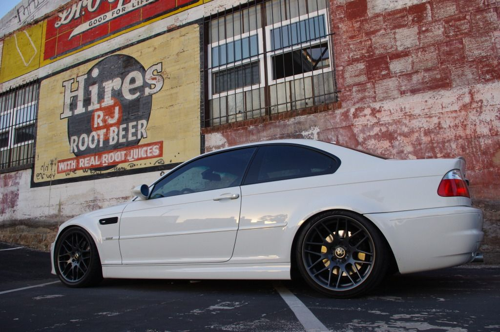 E46 M3 with Status Gruppe SRS Coilover kit  | Customer Cars