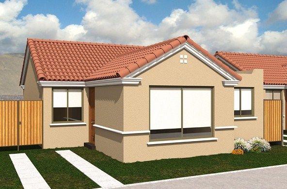 Fachadas de casas de un piso 10x20 fachadas pinterest for Fachadas de casas modernas en quito