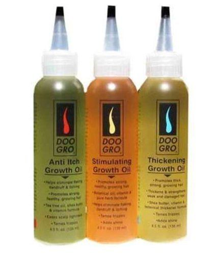 Doo Gro Triple Oil Pack Mega Thick Anti Itch And Stimulating Growth