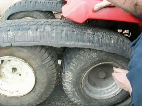 Half Track Garden Tractor Build With A John Deere 317 Homemade Ott You
