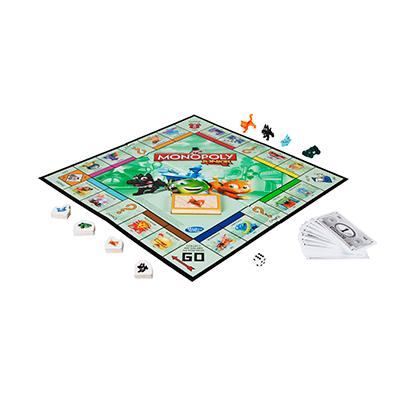 Monopoly Junior Game #GameNight Monopoly Junior