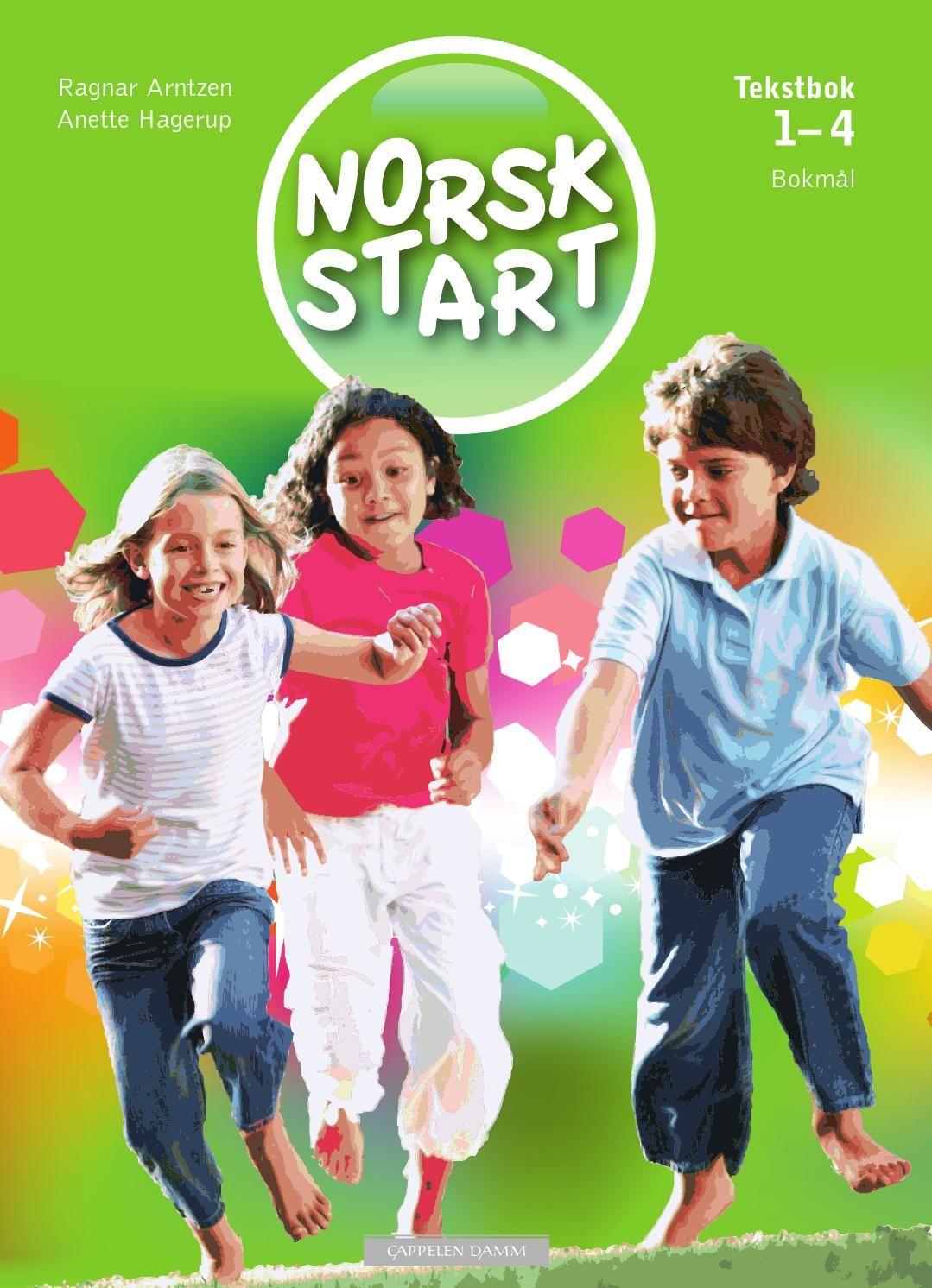 Norsk Start 1-4 tekstbok - blabok