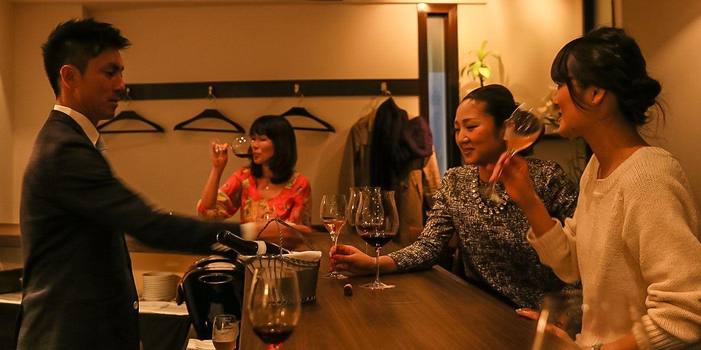 Wine Bar Vinvic | 名古屋市東区泉 ワインと本格フレンチのワインバー ヴァンビック