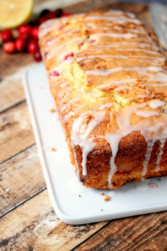 Cranberry Lemon Loaf Is Perfect For Breakfast Brunch