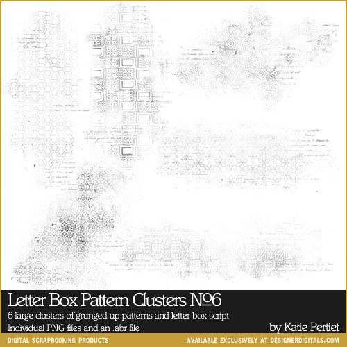 Letter box pattern clusters brushes and stamps no 06 photoshop letter box pattern clusters brushes and stamps no 06 spiritdancerdesigns
