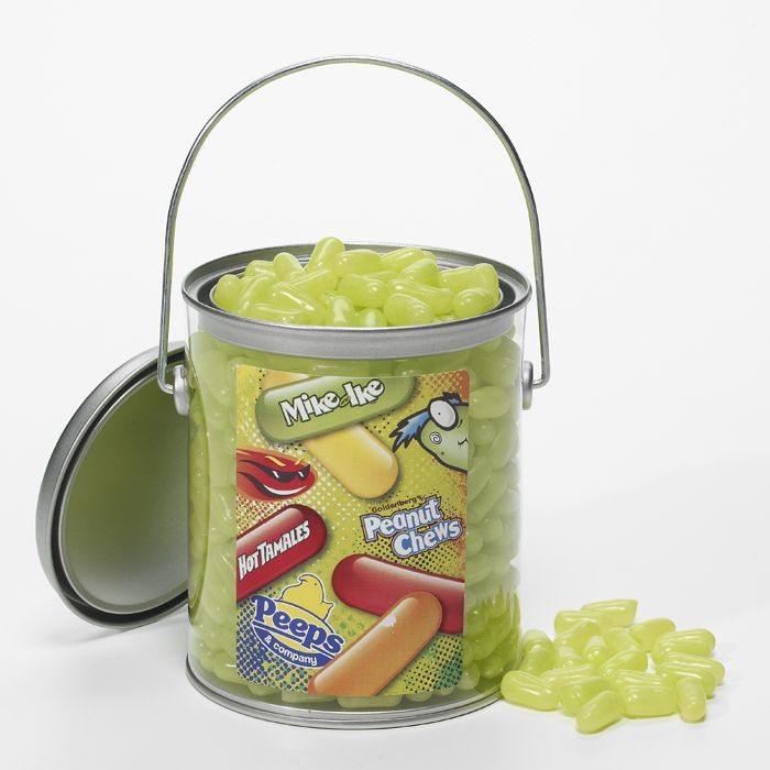Mike and ike green apple bulk candy gift pail gifts pinterest candy gifts negle Images