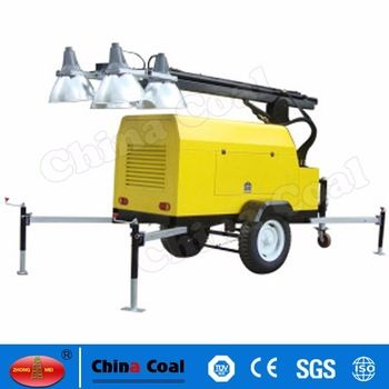 Factory Direct Trailer Mounted Portable Light Tower Emergency Light Price View Portable Light Tower China Coal Product Details From Shandong China Coal Group Emergency Lighting Portable Light Tower