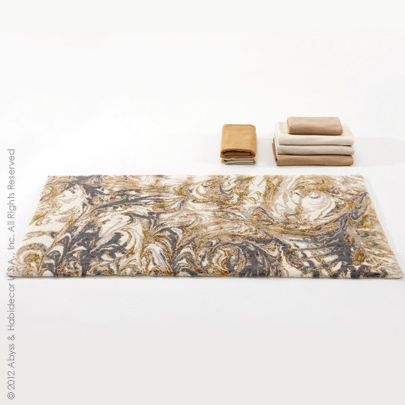 Casanova A Marbled Rug By Abyss And Habidecor Is Inspired Beauty