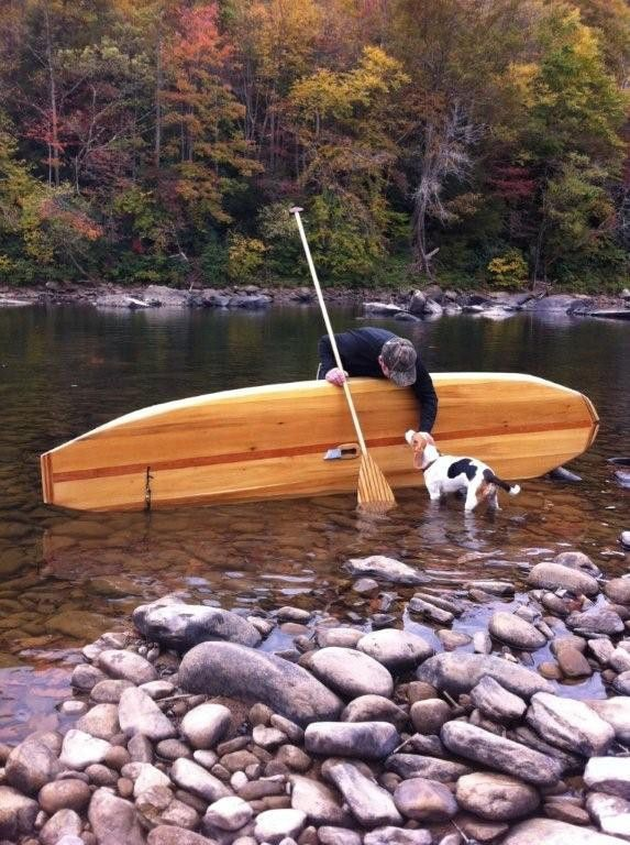 Build A Hollow Wooden Stand UP Paddleboard Wood SUP ...