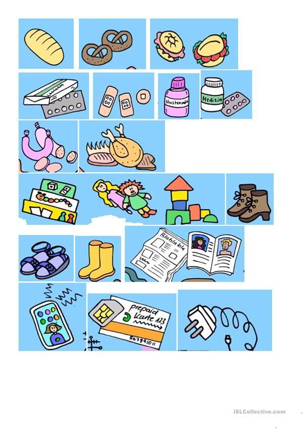 Wohin gehst du einkaufen? | Essen und Trinken, Lebensmittel - DAF ...