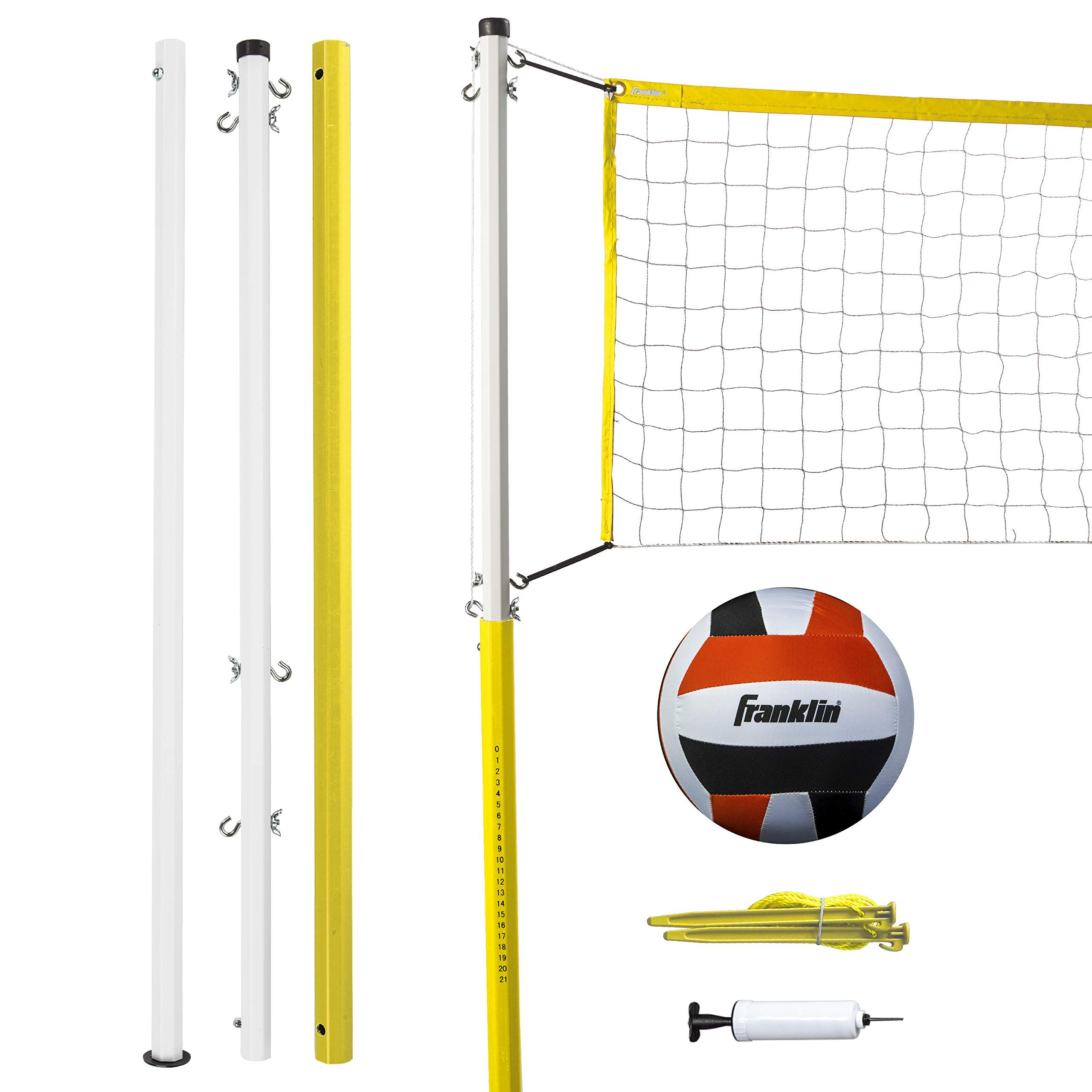 Franklin Sports Family Volleyball Set In 2020 Volleyball Set Sport Volleyball Franklin Sports